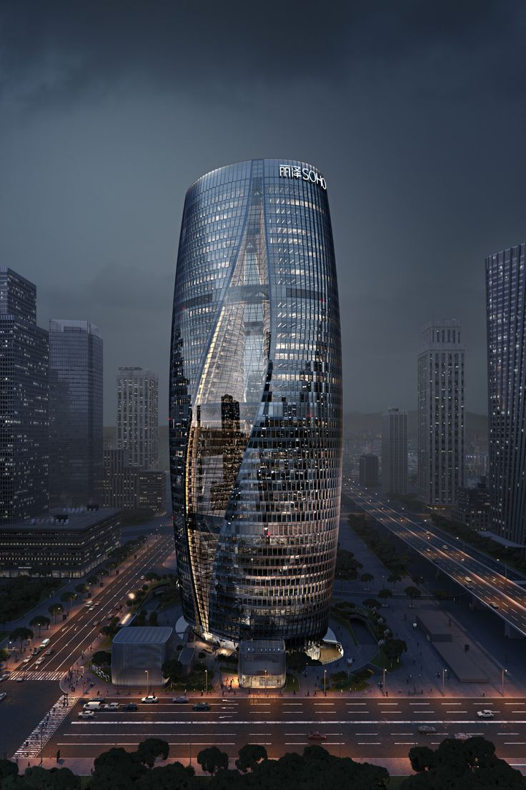 Making of ZHA's Leeza SOHO - 3D Architectural Visualization & Rendering Blog