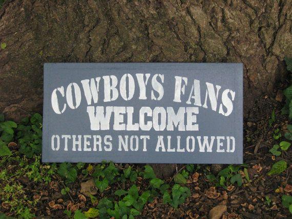 Dallas Cowboys Sign by AllStarSportsSigns on Etsy, $25.00