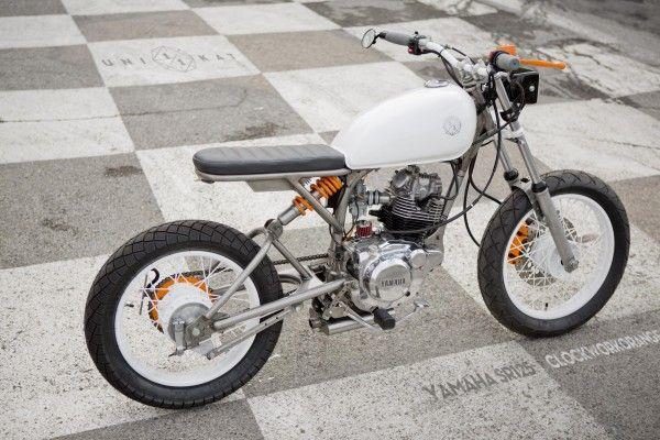 24 best images about moto 125 on pinterest cb350 cafe racer racer and cafe racers. Black Bedroom Furniture Sets. Home Design Ideas