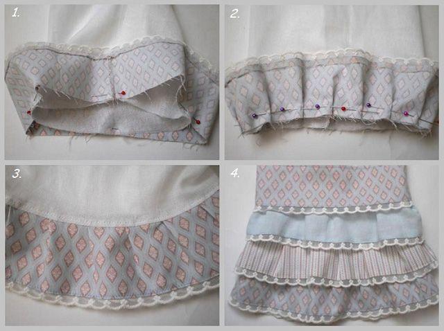 Юбка в стиле Бохо. А многослойные пышные юбки, характерные для стиля Бохо, шьются и вовсе без всякой выкройки. Достаточно нашить большое количество оборок на юбку, сшитую по обычной выкройке.