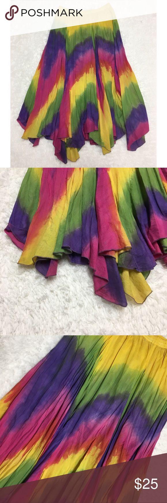 Modal Scarf - Pink & Yellow Runabout by VIDA VIDA v3Aja5vr