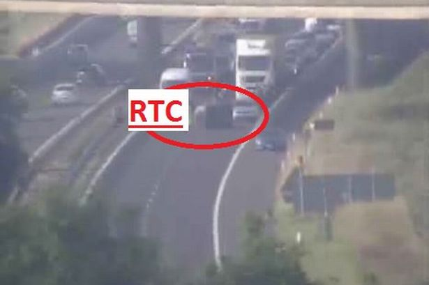 Stretch of M8 into Glasgow closed as accident blocks both lanes  A road traffic accident is currently blocking both lanes on the M8 westbound outside Glasgow. Police Scotland are on the scene west of junction 30, St James ...  #UnitedSolicitors #RoadTrafficAccident