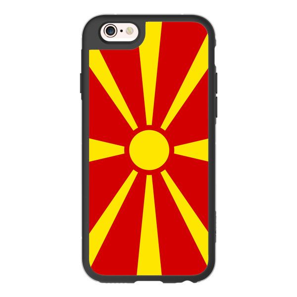 iPhone 6 Plus/6/5/5s/5c Case - Flag of Macedonia ($40) ❤ liked on Polyvore featuring accessories, tech accessories, iphone case, iphone cases, apple iphone cases, iphone hard case and iphone cover case