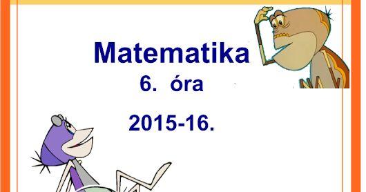 Bemutató óra 2. osztály matematika  interaktív tananyag