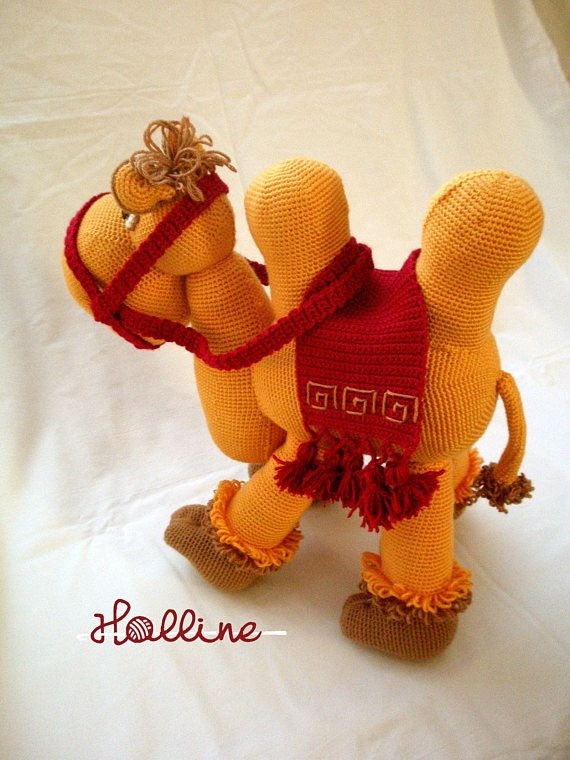 PDF pattern Ibil the happy Camel crochet amigurumi camel