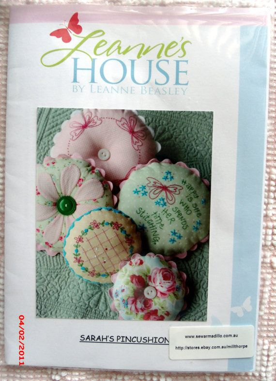 Leann Beasley Sarah's Pincushion Pattern by SweetRepeatVintage