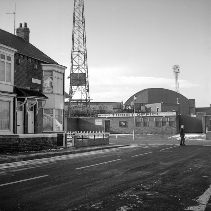 Ayresome Park, Home of Middlesbrough Football Club from 1903-1995 : the Ticket Office
