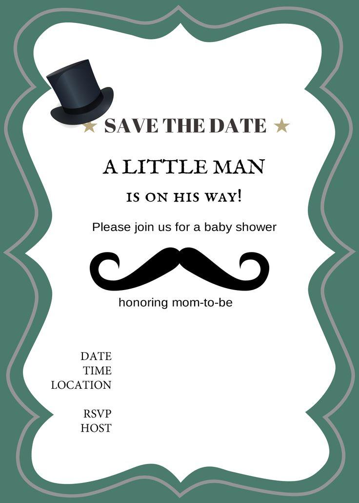 159 best aniversario mustache images on Pinterest   Baby boy ...