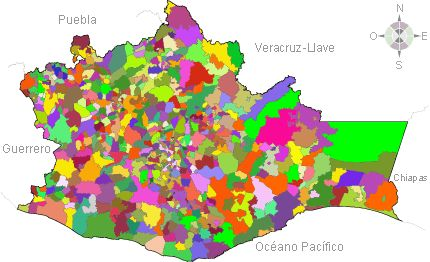 Oaxaca. División municipal