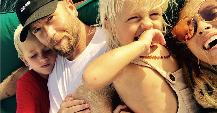 """Mummy, fish are my friends"" says Teresa Palmer's vegan toddler #Celebrity"