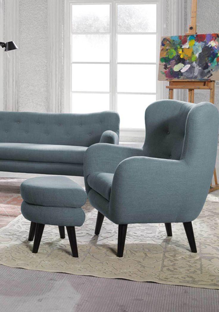 10 sofa sessel pinterest couch sessel for Breiter ohrensessel