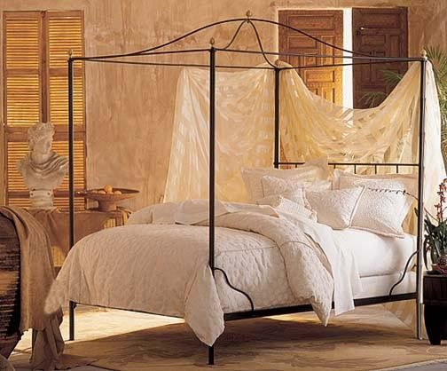 Charles P Rogers Beds Direct Cairo Canopy Bed W Bell Top
