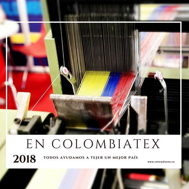 Nuevos insumos, procesos, tecnologías y relaciones es lo que encontramos en #Colombiatex2018, nos invitan a adaptarnos y apoyar el crecimiento del sector textil en Colombia, nos invitan a #AbrirLosOjos
