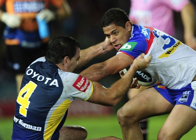 NRL Round 15 Newcastle Knights vs North Queensland Cowboys at Hunter Stadium Sunday, June 23th, 07:00pm (AEST).  After a season on the couch with a neck injury, is that Joseph Leilua of Newcastle has been named to start in the middle. The Newcastle Knights is also host of the new Darius Boyd and Beau Scott of the Office of origin.