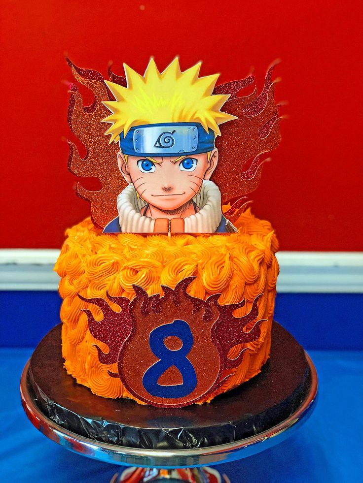Naruto cake topperbirthdaycelebrationjapanese manga by