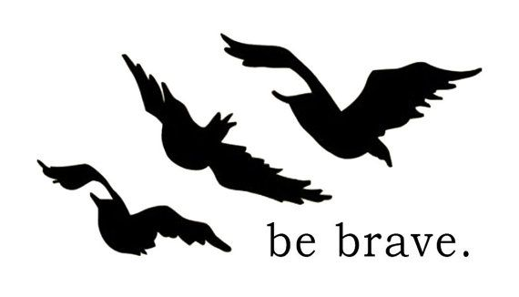 Three Ravens Divergent Tattoo by LoveUnstoppable on Etsy, $3.99