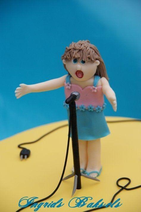 Kleine zangeres