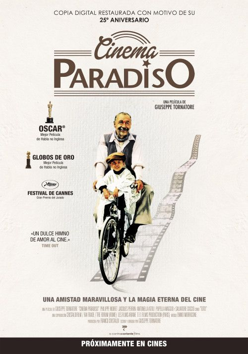 an analysis of the giuseppe tornatores film nuovo cinema paradiso Cinema paradiso (an analysis by hamza-bin-tahir) there is a lot of portrayal of cinema culture in the film but the elements on which it thrives upon are the three.