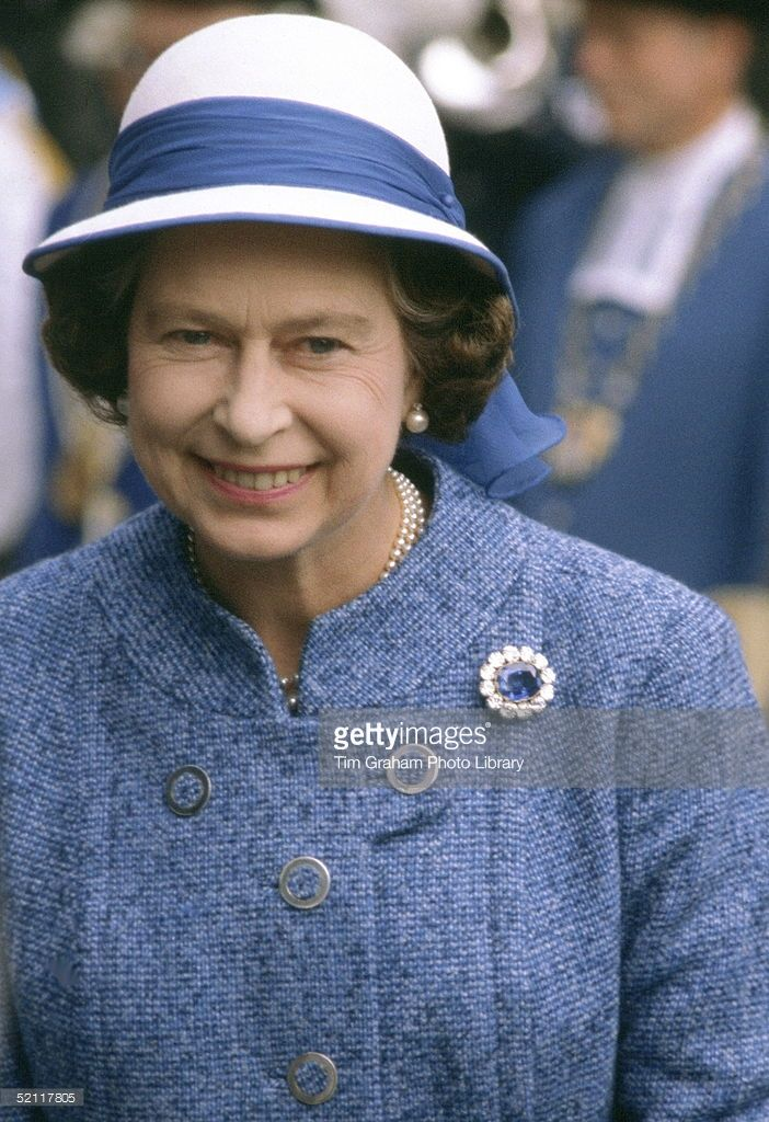Queen Elizabeth II On An Official Visit To Switzerland 29 April - 2 May 1980 (exact Day Date Not Certain)  (Photo by Tim Graham/Getty Images)