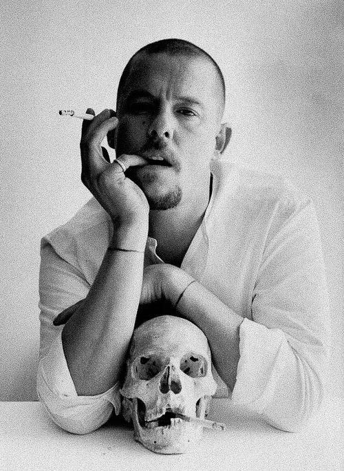"""""""I want to empower women. I want people to be afraid of the women I dress."""" - Alexander McQueen (may he rest in peace)"""