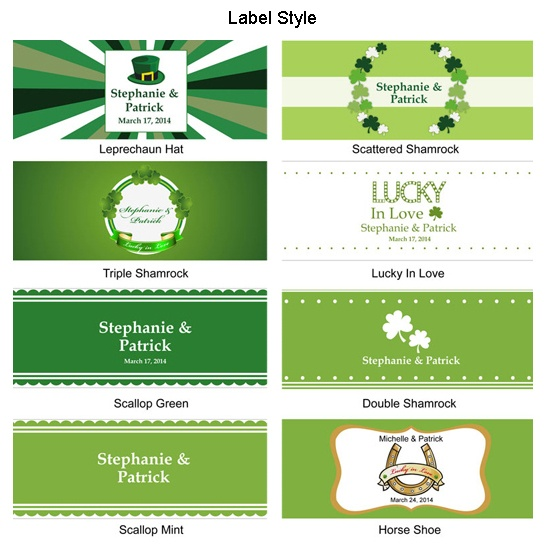 Cheap Personalized Water Bottle Labels Wedding