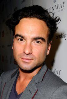 johnny galecki - spotted at the chateau marmont...