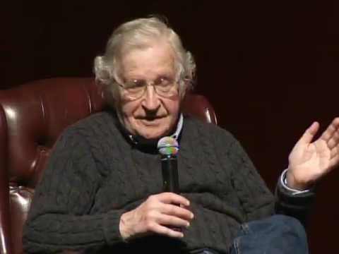 "▶ Education For Whom and For What? - YouTube | Noam Chomsky, a world-renowned linguist, intellectual and political activist, spoke at the University of Arizona on Feb. 8, 2012. His lecture, ""Education: For Whom and For What?"" featured a talk on the state of higher education, followed by a question-and-answer session."