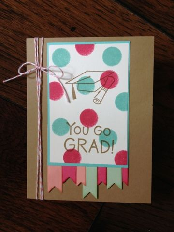 Graduation Challenge Card - Scrapbook.com
