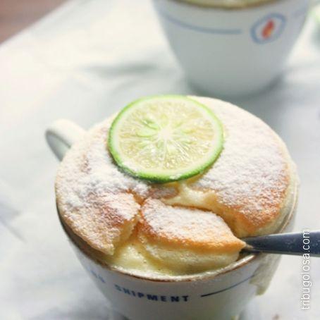 Soufflè al lime