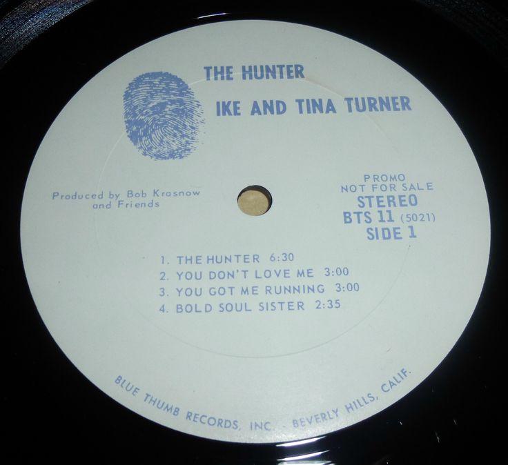 The Hunter  Lp, Original Blue Thumb label
