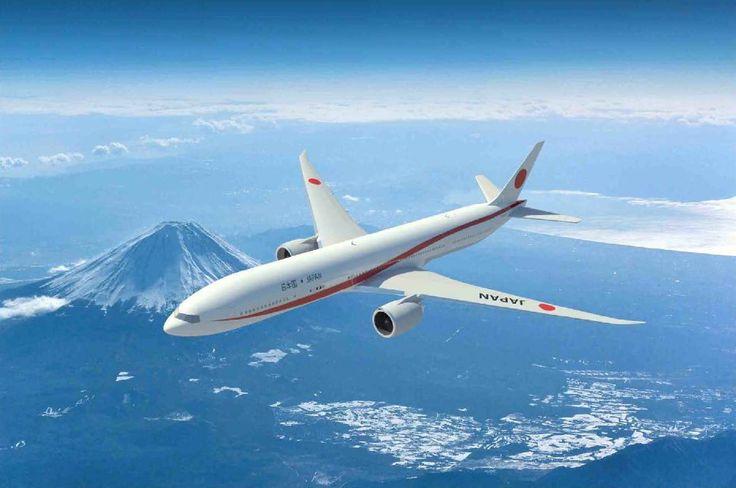 新たな政府専用機のデザインが決定 赤いラインのボーイング777(画像集)