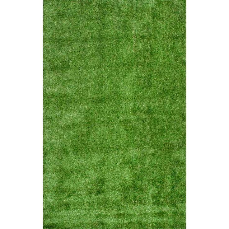 Artificial Grass Green 8 Ft. X 10 Ft. Indoor/Outdoor Area Rug