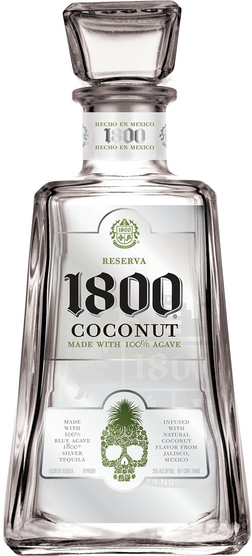 1800® Tequila | Coconut 50ml Favor Gift for Men Guest's.                                                                                                                                                                                 More