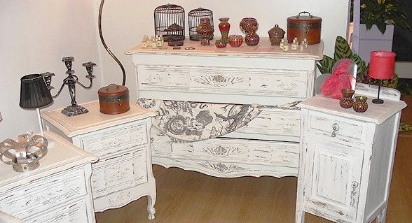 Paso a paso para recuperar muebles antiguos - Tecnicas de restauracion de muebles ...