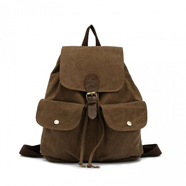 I am so happy to find the Fashion Leather High-density Canvas Casual Backpack from ByGoods.com. I like it <3!Do you like it,too?