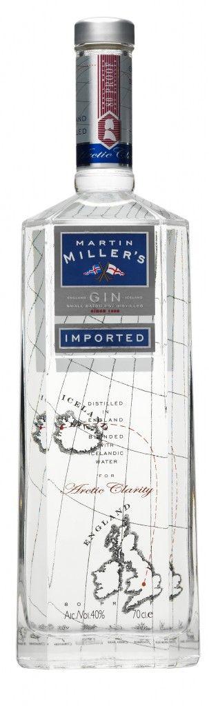 Martin Miller's Gin. Lovely with ft elderflower tw.