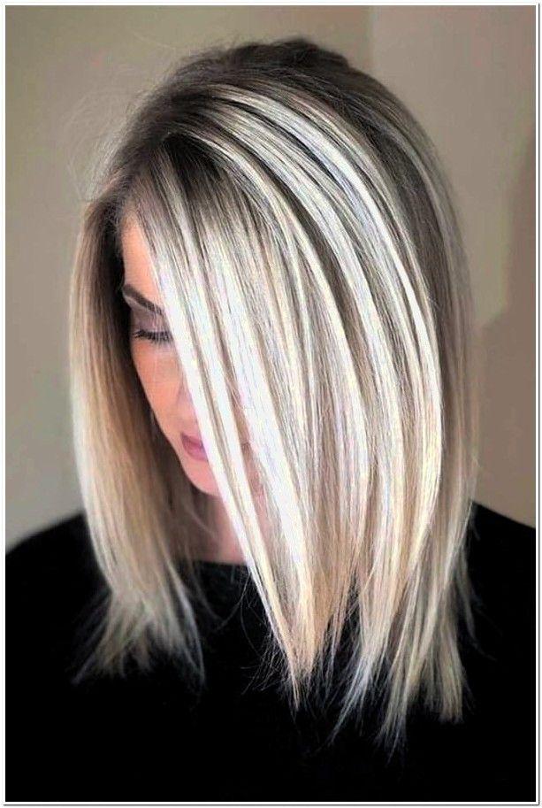 10 Platinblondes Haar Frauen Frisuren 2019 Hair Styles Long Hair Styles Hair Lengths