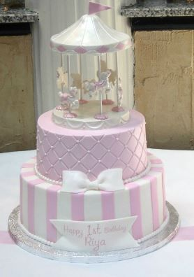 1000 Ideas About Carousel Cake On Pinterest Cakes