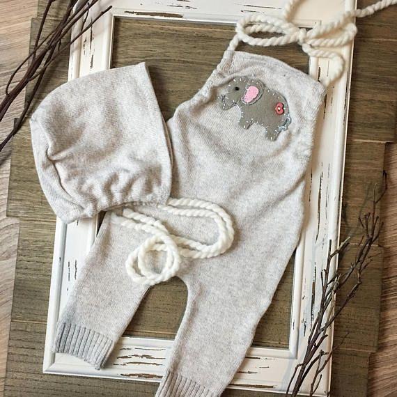 Baby elephant outfit-newborn elephant outfit-newborn