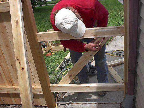 25+ Best Ideas About Wooden Gates On Pinterest