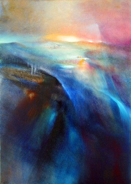 Annette Scmucker - abstract landscape