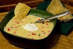 Homemade cheese & corn chowder! | Chattavore | Pinterest