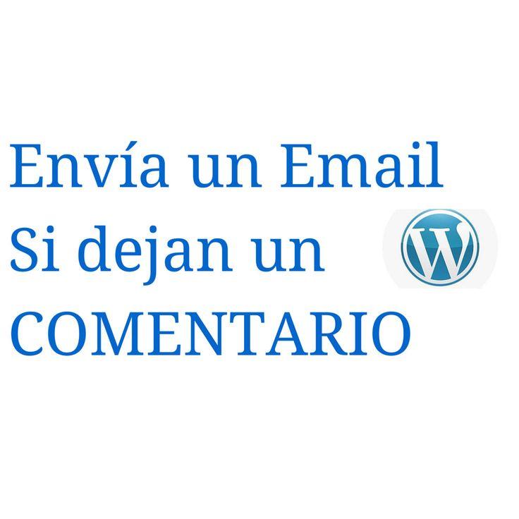 Enviar un Email de agradeciendo a un Comentario en Wordpress (tutorial en vídeo)
