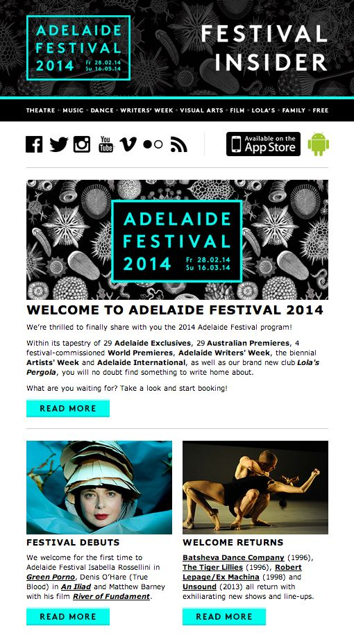Adelaide Festival, by IS Design + Digital (http://www.isdd.com.au)