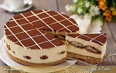 Cheesecake al Tiramisù senza forno