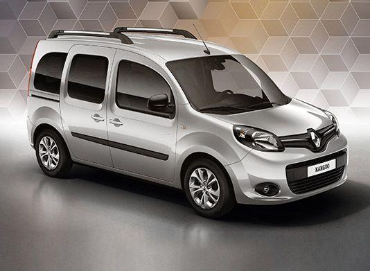 Renault Kangoo srebrny