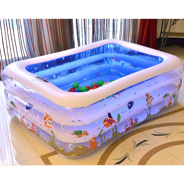 Высокое Качество детский Дом Использовать Детский Бассейн Большой Размер Надувные Площади Плавательный Бассейн Сохранение Тепла Дети Детский Бассейн