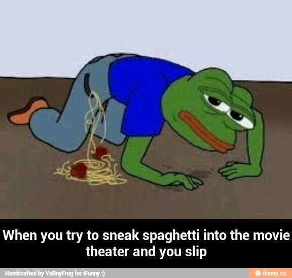 pepe the frog spaghetti - Google Search