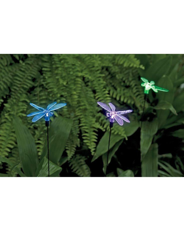 Dragonfly Solar Lights | Garden Decor | Buy from Gardener's Supply