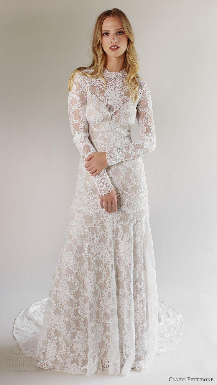 Bohemian wedding dress chiffon wedding dress with neck piece f